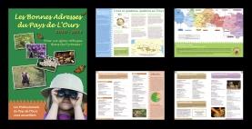 """Brochure """"Les bonnes adresses du Pays de l'Ours"""", annuaire de professionnels du tourisme favorables à la présence de l'ours dans les Pyrénées. Editée par l'association Pays de l'Ours - Adet (Arbas, 31)"""