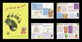 """Création d'un livret-guide pour parcourrir en autonomie le sentier d'interprétation """"La Vallée des ours"""" (Arbas, 31)"""