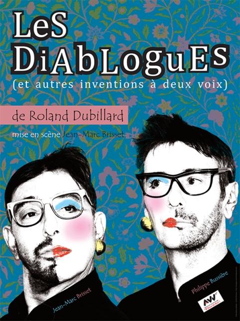"""Spectacle """"Les Diablogues"""", par jean-Marc Brisset et Philippe Bussière, association Voisins-Voisines"""