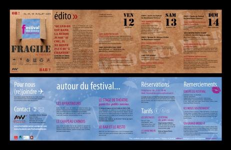 Programme 2013 du Festival des Voisins (Arbas, 31)