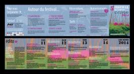 Programme 2014 du Festival des Voisins (Arbas, 31)