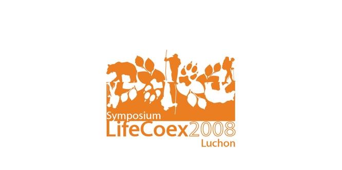 Création du logo pour le colloque Life Coex « Des ours, des loups et des hommes : initiatives européennes pour la cohabitation et la valorisation » (2008)