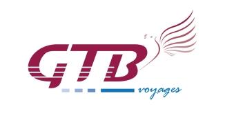 Création du logo de la société GTB Voyages, transport en autocars (Mirande, 32)