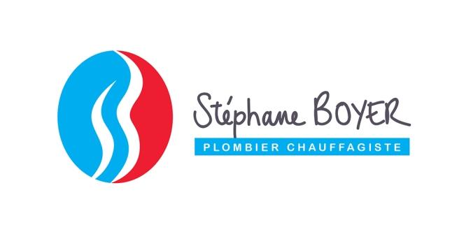 Création du logo de Stéphane Boyer, plombier chauffagiste à Chapdeuil (24)