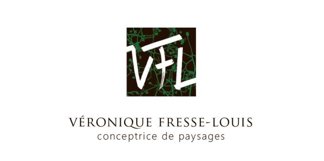 Création du logo de Véronique Fresse-Louis, conceptrice de paysages basée à Gourvieille (11), dans le cadre d'un stage de formation destiné à des porteurs de projet (en partenariat avec la BGE Ouest Audois).