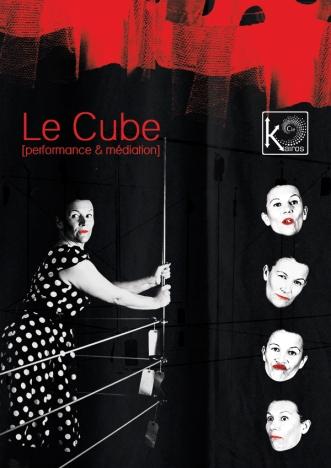 """Affiche """"Le Cube"""", format A3"""