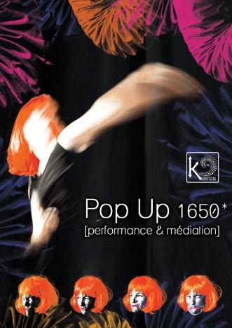 "Affiche ""Pop Up 1650*"", format A3"