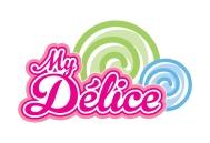 Création du logo de My Délice, vente ambulante de confiseries.