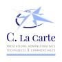 Création du logo de C. la Carte, prestations administratives, techniques et commerciales auprès des entreprises et des particuliers.